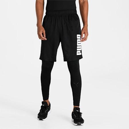 "PUMA Essential Woven 9"" Men's Shorts, Puma Black, small-IND"
