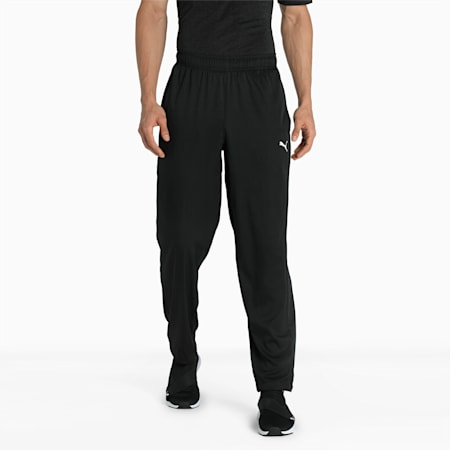 Essential Woven Men's Pants, Puma Black, small-IND