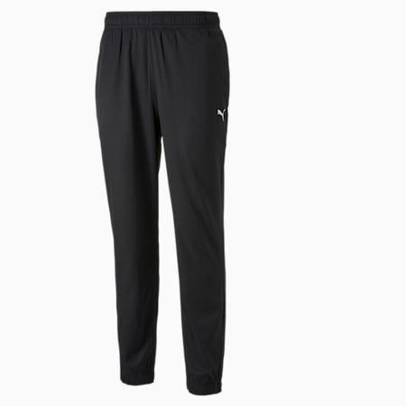 Essentials Woven Men's Pants, Puma Black, small-GBR