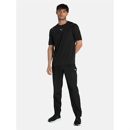 Essential Regular Fit Woven Men's Pants, Puma Black, small-IND