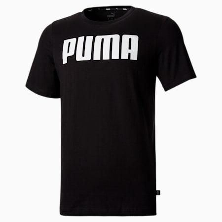 Essentials Men's Tee, Puma Black, small-SEA