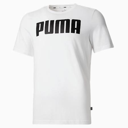Essentials Men's Tee, Puma White, small-SEA