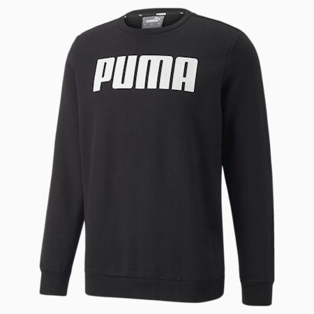 Sweat à col rond Essentials Big pour homme, Puma Black, small