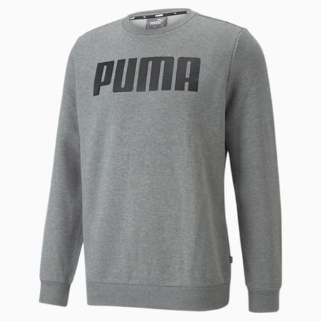 Sweat à col rond Essentials Big pour homme, Medium Gray Heather, small