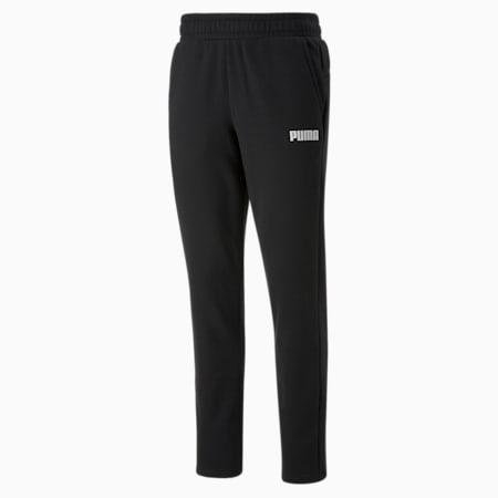 Essentials Men's Full-Length Pants, Puma Black, small