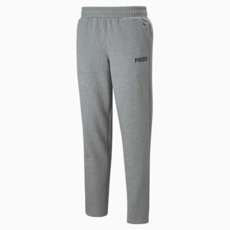 Essentials Men's Full-Length Pants, Medium Gray Heather, small