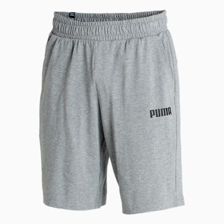 """Essential Knitted 10"""" Men's Shorts, Medium Gray Heather, small-IND"""