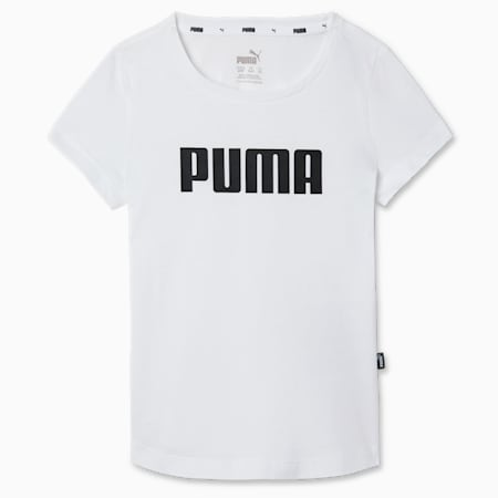 Essentials Youth Tee, Puma White, small-SEA