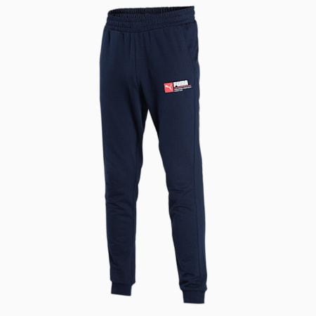 PUMA Graphic Men's Pants, Peacoat, small-IND
