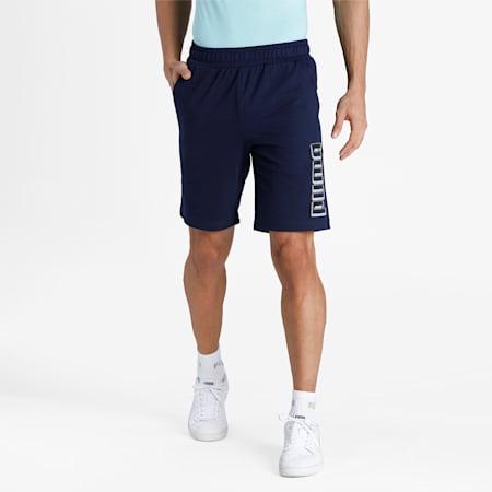 PUMA Graphic Men's Shorts, Peacoat, small-IND
