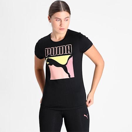 PUMA Graphic Men's T-Shirt, Puma Black, small-IND