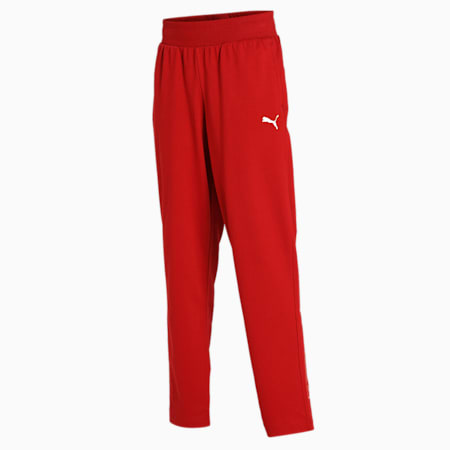 PUMA Graphic Women's Pants, Red Dahlia, small-IND