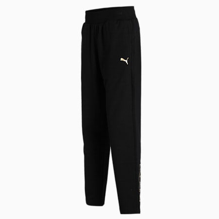 PUMA Graphic Women's Pants, Puma Black, small-IND