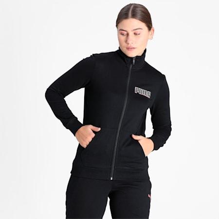 PUMA Full-Zip Women's Track Jacket, Puma Black, small-IND