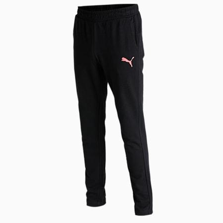PUMA Graphic Men's Pants, Puma Black, small-IND