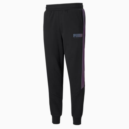 Pantalones deportivos CYBER para hombre, Puma Black, pequeño