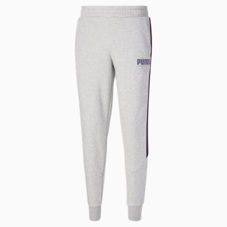 Pantalones deportivos CYBER para hombre, Light Gray Heather, pequeño