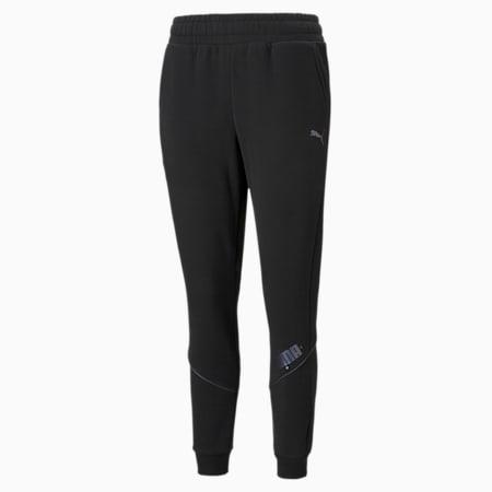 Pantalones deportivos CYBER para mujer, Puma Black, pequeño
