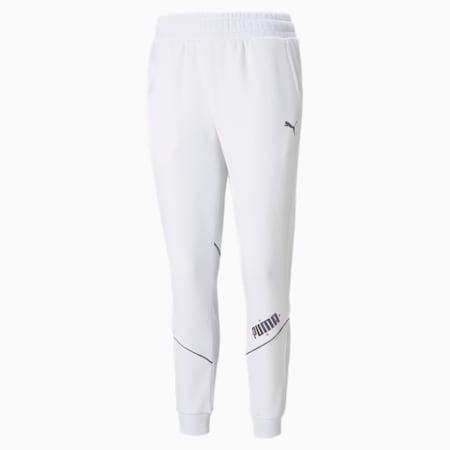Pantalones deportivos CYBER para mujer, Puma White, pequeño