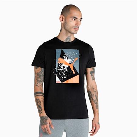 PUMA x 1DER Men's T-Shirt, Puma Black, small-IND