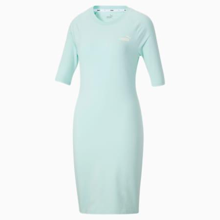 Vestido estilo camiseta Essentials para mujer, Eggshell Blue, pequeño