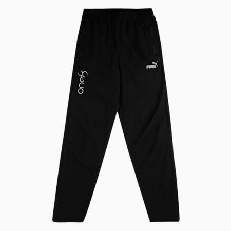 one8 PUMA Woven Boy's Pants, Puma Black, small-IND