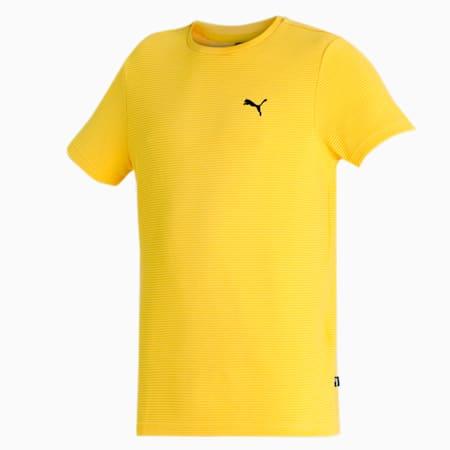 PUMA Ottoman Men's T-Shirt, Super Lemon, small-IND