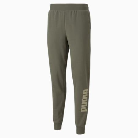 PUMA POWER Men's Sweat Pants, Grape Leaf, small-IND