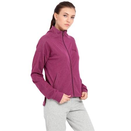 Sweat Jacket w, Dark Purple, small-IND