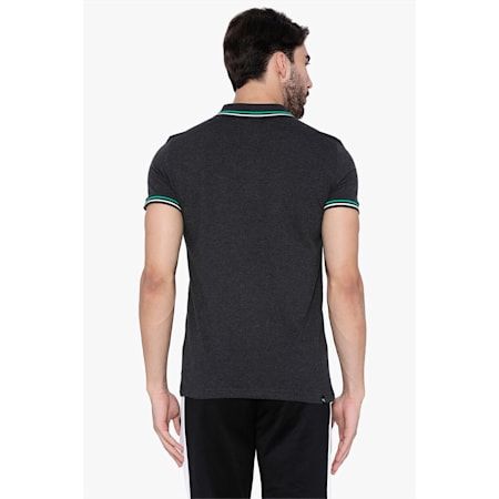 Multi Color Tipping Polo, Dark Gray Heather, small-IND