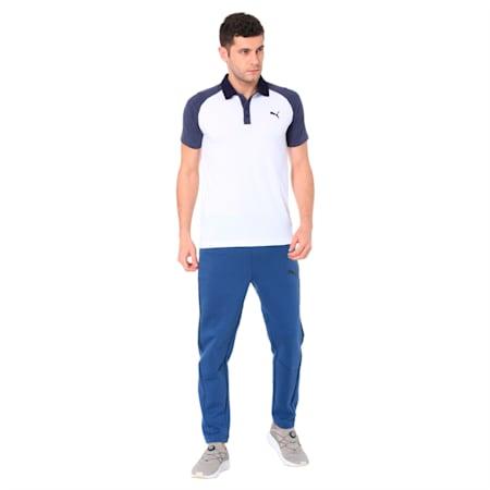 Raglan Jersey Polo, Puma White, small-IND