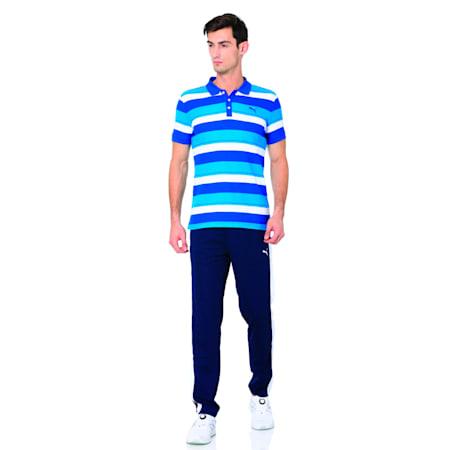 Stripe Pique Polo 2, TRUE BLUE-TRUE BLUE, small-IND
