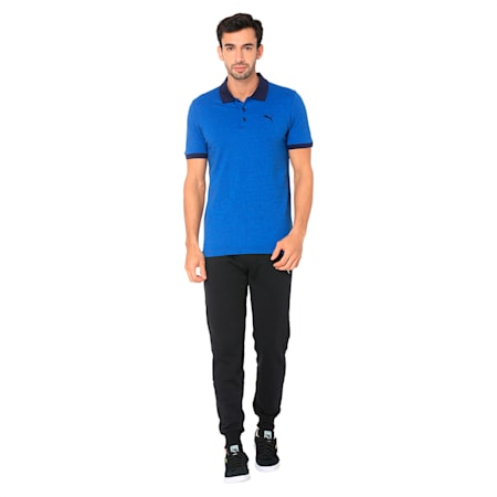 Jacquard Polo 1, Strong Blue, small-IND