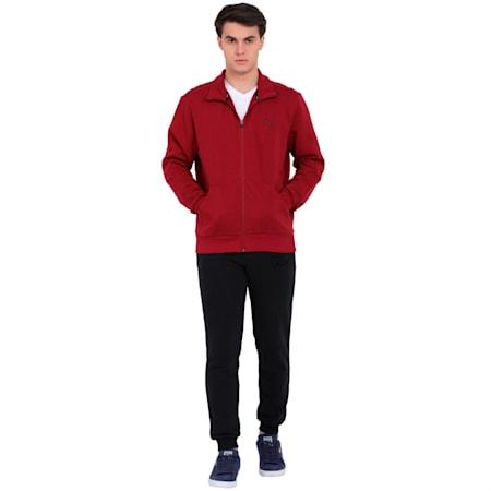 ESS Sweat Jacket, FL, Tibetan Red, small-IND