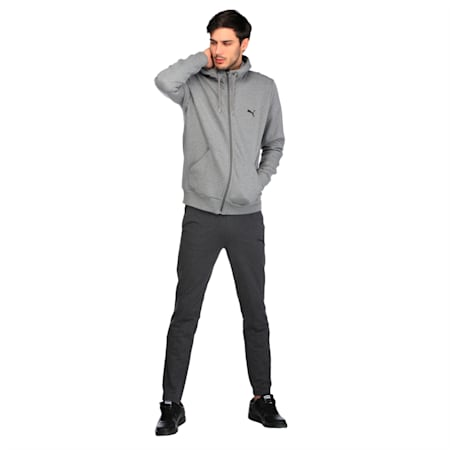 ESS FZ Hoody, FL, Medium Gray Heather, small-IND