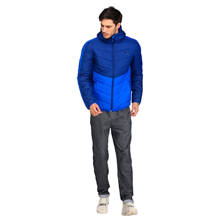 ESS warmCELL Padded JACKET, Blue Depths, small-IND