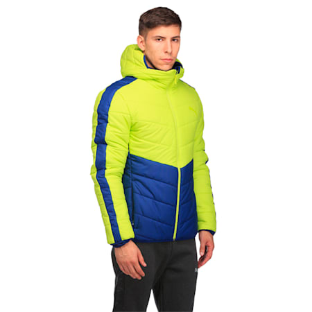 ESS warmCELL Padded JACKET, Limepunch, small-IND
