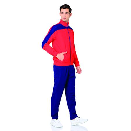 Evostripe Woven Suit op, Toreador-Blue Depths, small-IND