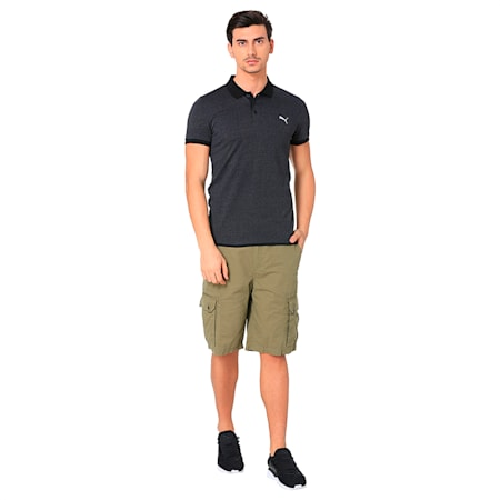GRINDLE POLO M, Cotton Black, small-IND