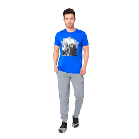 GRAPHIC TEE M, Puma White, small-IND