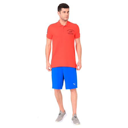 EMBROIDERY POLO M, Flame Scarlet, small-IND
