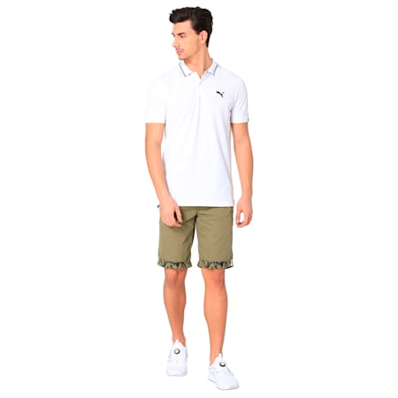 INDIA PRINTED MENS CHINO SHORT, burnt olive, small-IND