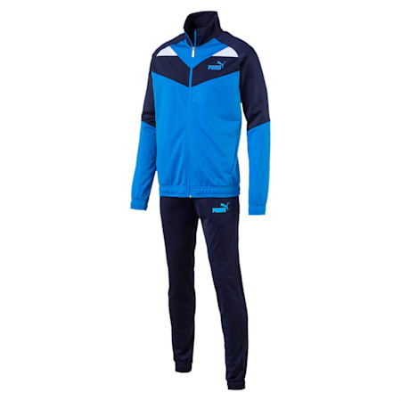 Iconic Tricot Cl Men's Track Suit, Indigo Bunting, small-IND