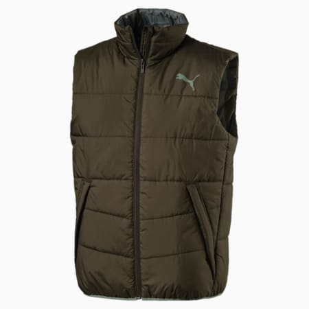 Men's Essential Padded Gilet, Forest Night, small-IND