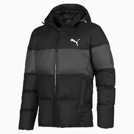 480 Hooded Down Jacket, Puma Black, small