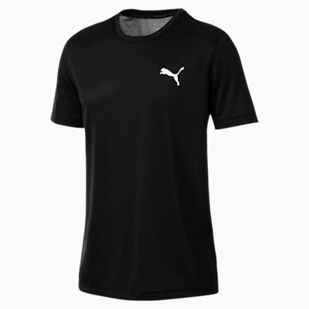 Active Herren T-Shirt, Puma Black, small