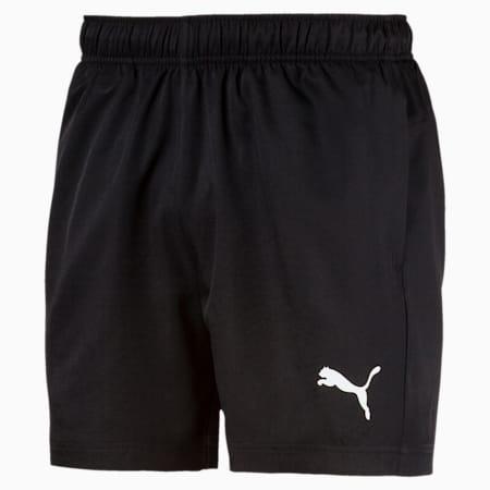 Active Men's Woven Shorts, Puma Black, small-SEA