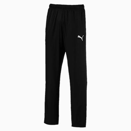 Active Woven Men's Sweatpants, Puma Black, small-SEA