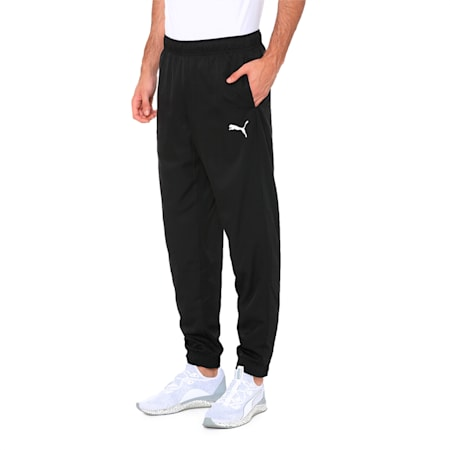 Active Woven dryCELL Men's Sweatpants, Puma Black, small-IND