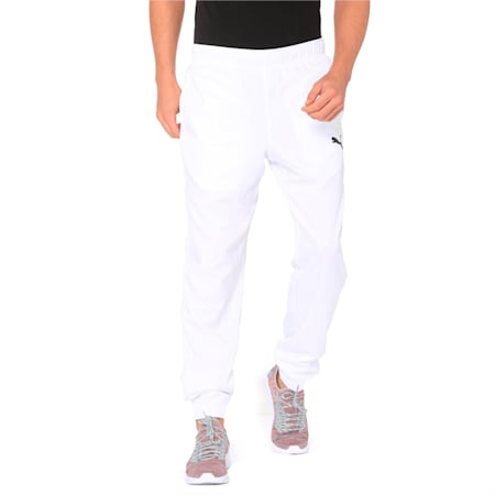 Active Woven dryCELL Men's Sweatpants, Puma White, small-IND